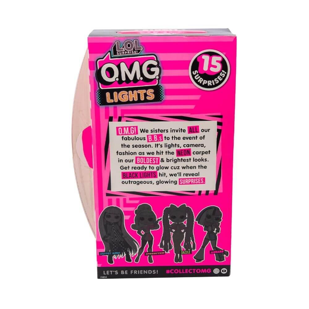 Большая кукла LOL Surprise OMG Lights Angles Fashion Doll с 15 сюрпризами - 4